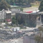 Hill Valley nach dem Feuer